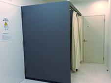 放射線科更衣室